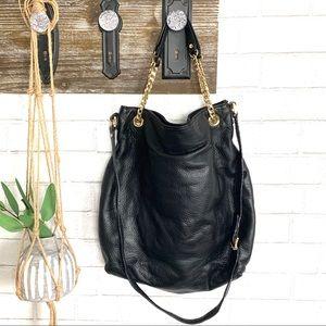 Micheal Kors Pebbled Leather satchel crossbody